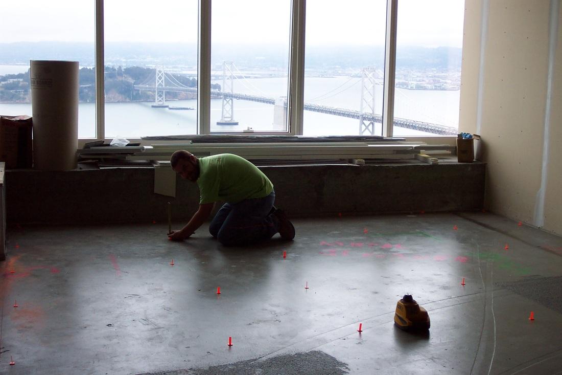 Concrete Floor Repair Leveling Contractors California Flatline